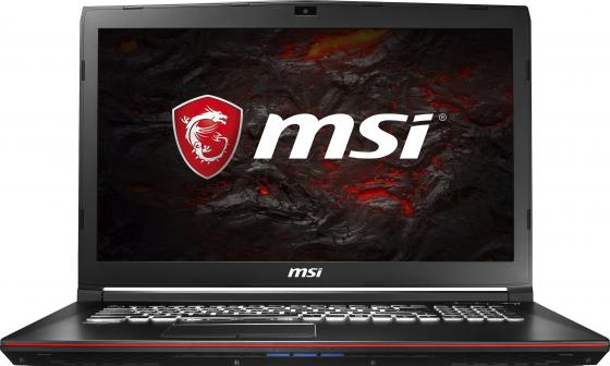 Ноутбук MSI GP72 7RDX(Leopard)-484RU 17.3 1920x1080 Intel Core i7-7700HQ 1 Tb 8Gb nVidia GeForce GTX 1050 2048 Мб черный Windows 10 ноутбук msi gp 72 7rdx 484 ru
