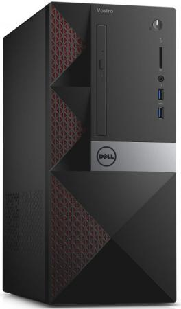 все цены на Системный блок DELL Vostro 3667 MT i3-6100 3.7GHz 4Gb 1Tb GT710-2Gb DVD-RW Win10Pro клавиатура мышь черный 3667-8138 онлайн