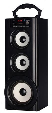 Портативная акустикаSupra BTS-950 черный телефон supra stl 111 белый