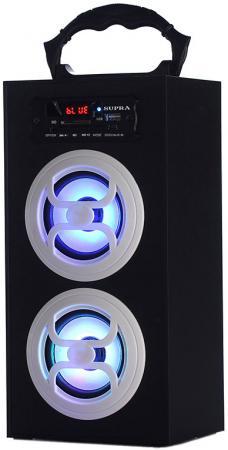 Портативная акустикаSupra BTS-650 черный портативная акустика supra pas 6255 blue синий