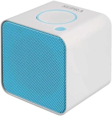 Портативная акустикаSupra BTS-628 бело-голубой