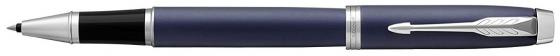 все цены на Ручка-роллер Parker IM Core T321 Matte Blue CT черный F 1931661 онлайн
