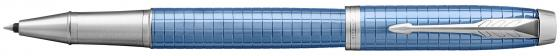 Ручка-роллер Parker IM Premium T322 Blue CT черный F 1931690