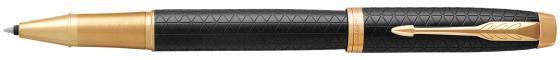 Ручка-роллер Parker IM Premium T323 Black GT черный F 1931660 электросамокат hoverbot f 7 premium цвет black черный