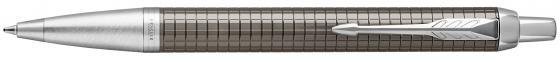 Шариковая ручка автоматическая Parker IM Premium K322 Dark Espresso CT синий M 1931683