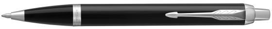 Шариковая ручка автоматическая Parker IM Core K321 Black CT синий M 1931665