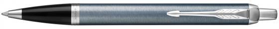 Шариковая ручка автоматическая Parker IM Core K321 Light Blue Grey CT синий M 1931669 шариковая ручка автоматическая parker im core k321 light blue grey ct синий m 1931669