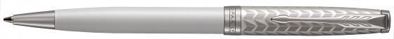 Шариковая ручка поворотная Parker Sonnet Premium K540 Metal&Pearl PGT CT черный M 1931550 шариковая ручка поворотная parker sonnet premium k531 masculine brown pgt черный m 1931483