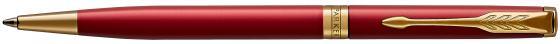 Шариковая ручка поворотная Parker Sonnet Core K439 Slim LaqRed GT черный M 1931477