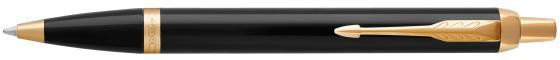 Шариковая ручка автоматическая Parker IM Core K321 Black GT синий M 1931666 шариковая ручка автоматическая parker urban core k309 muted black gt синий m 1931576