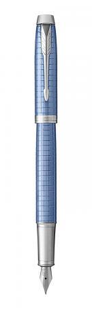 Перьевая ручка Parker IM Premium F322 Blue CT синий 0.8 мм перо F 1931688 европа перьевая ручка parker im s0856240