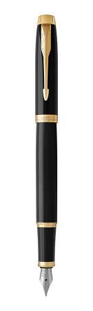 Перьевая ручка Parker IM Core F321 Black GT синий 0.8 мм перо F 1931645