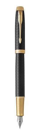 Перьевая ручка Parker IM Premium F323 Black GT синий 0.8 мм перо F 1931646 цена