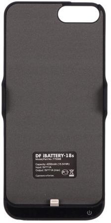цена на Чехол-аккумулятор DF iBattery-18s для iPhone 6S Plus iPhone 7 Plus iPhone 6 Plus чёрный