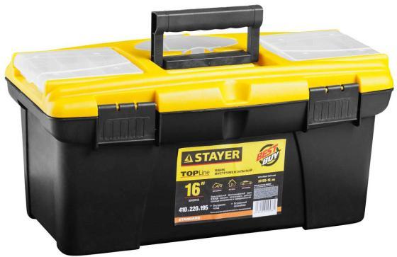 Ящик для инструмента Stayer Standard 16 пластиковый с органайзерами 38105-16_z02 moschino платок