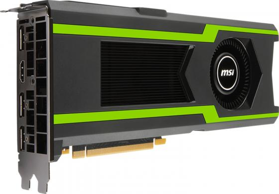 Видеокарта 11264Mb MSI GeForce GTX1080Ti PCI-E 352bit GDDR5X HDMI DP GTX 1080 Ti AERO 11G OC видеокарта 8192mb msi geforce gtx 1080 gaming x 8g pci e 256bit gddr5x dvi hdmi dp retail