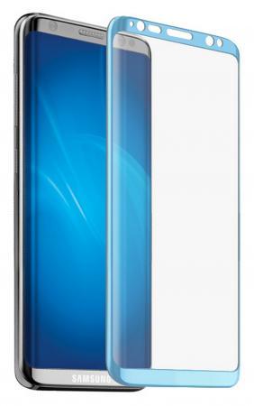 Защитное стекло DF sColor-18 для Samsung Galaxy S8 3D с рамкой синий d angdang df 065 8