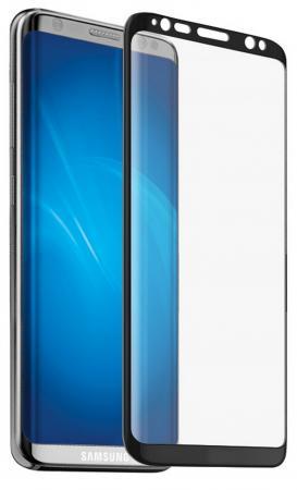 купить Защитное стекло DF sColor-19 для Samsung Galaxy S8 Plus 3D с рамкой черный онлайн