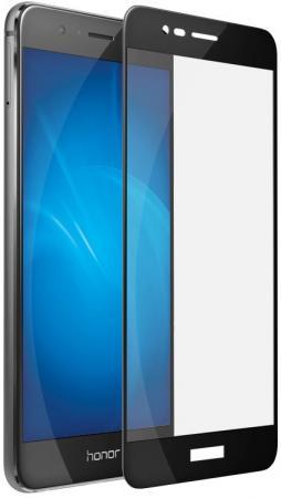 Защитное стекло DF hwColor-07 для Huawei Honor 8 Pro с рамкой черный цена