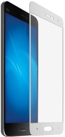 Защитное стекло DF xiColor-11 для Xiaomi Mi 5c с рамкой белый kakim bydet gibkii telefon ot samsung