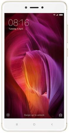 Смартфон Xiaomi Redmi Note 4x золотистый 5.5 32 Гб LTE Wi-Fi GPS 3G смартфон asus zenfone live zb501kl золотистый 5 32 гб lte wi fi gps 3g 90ak0072 m00140
