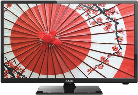 "Телевизор LED 24"" Akai LEA-24V60P черный 1920x1080 50 Гц VGA HDMI USB"