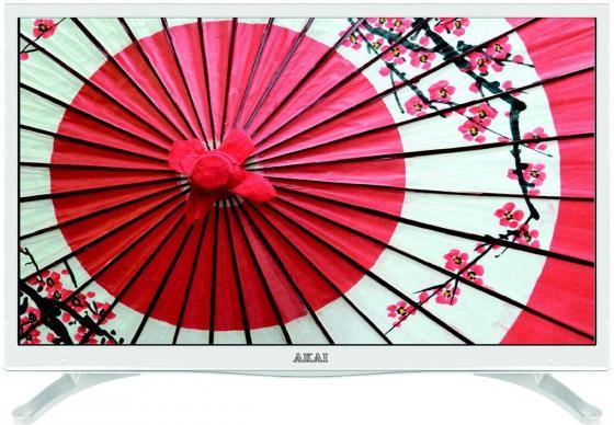 Телевизор LED 28 Akai LEA-28U62W белый 1366x768 50 Гц VGA led телевизор akai lea 32h50p