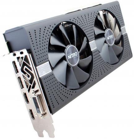 Видеокарта 4096Mb Sapphire RX 580 NITRO+ PCI-E DVI HDMI DP 11265-07-20G Retail цены