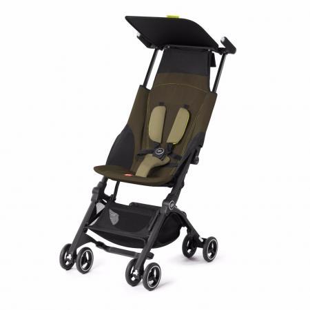 Прогулочная коляска GB Pockit Plus (lizard khaki) fn01 multifunction canvas shoulder bag handbag backpack for women khaki