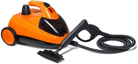 Пароочиститель KITFORT KT-908-3 1500Вт оранжевый чёрный КТ-908-3