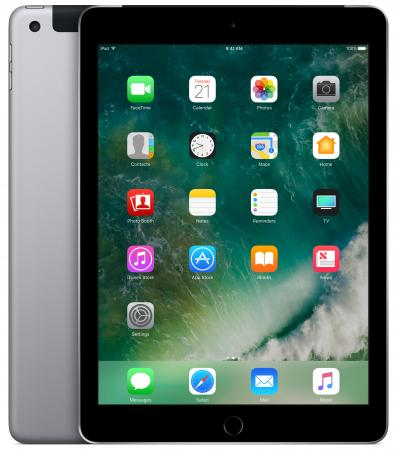 Планшет Apple iPad + Cellular 9.7 32Gb серый LTE Wi-Fi 3G Bluetooth 4G iOS MP1J2RU/A apple 4 32gb нижний новгород