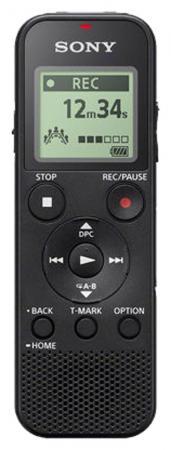 Цифровой диктофон ICD-PX370 4Gb черный