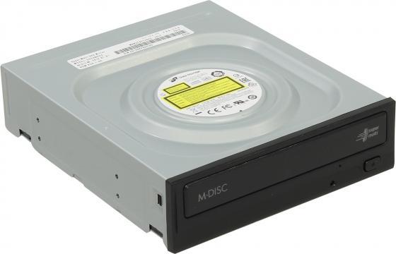 Привод для ПК DVD±RW LG GH24NSD3 SATA черный Retail оптический привод dvd rw lg gp60nb60 внешний usb черный ret