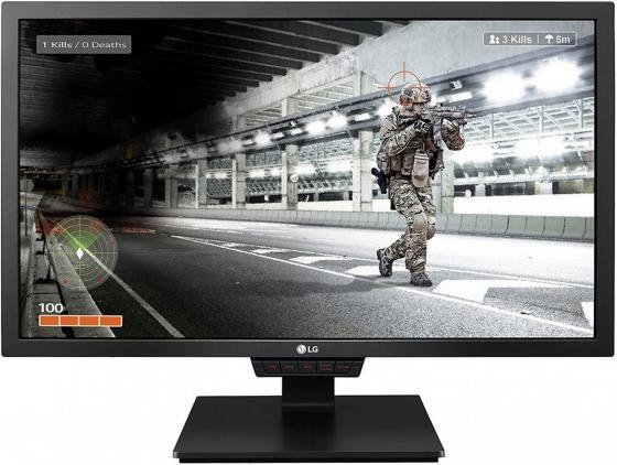 Монитор 24 LG Flatron 24GM79G-B черный TN 1920x1080 350 cd/m^2 5 ms HDMI DisplayPort USB монитор flatron l1953s