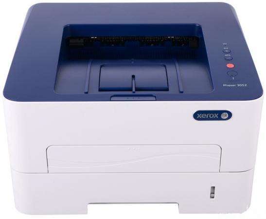 Принтер Xerox Phaser 3052V/NI ч/б A4 26ppm 1200x1200dpi Ethernet USB принтер xerox phaser 3020bi ч б а4 20ppm