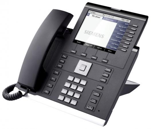 Телефон IP Unify OpenScape 55G черный L30250-F600-C290 ключ активации для кордлес unify l30251 u600 a395