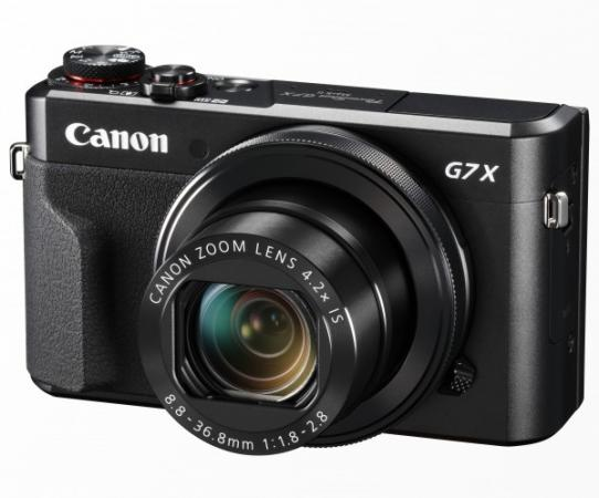 Фотоаппарат Canon PowerShot G7 X MARKII 20.2Mp 4.2xZoom черный 1066C002 powershot d10 купить