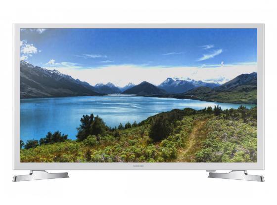 Телевизор LED 32 Samsung UE32J4710AKX белый 1366x768 100 Гц Wi-Fi Smart TV USB RJ-45 телевизор 32 lg 32lh570u серый 1366x768 100 гц smart tv wi fi usb rj 45 widi
