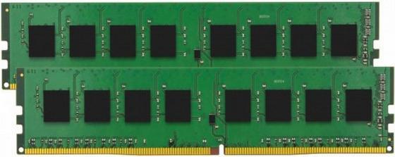 Оперативная память 16Gb (2x8Gb) PC4-19200 2400MHz DDR4 DIMM CL17 Kingston KVR24N17S8K2/16 оперативная память 16gb pc4 19200 2400mhz ddr4 dimm cl17 kingston kvr24n17d8 16