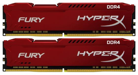 Оперативная память 16Gb (2x8Gb) PC4-19200 2400MHz DDR4 DIMM CL15 Kingston HX424C15FR2K2/16