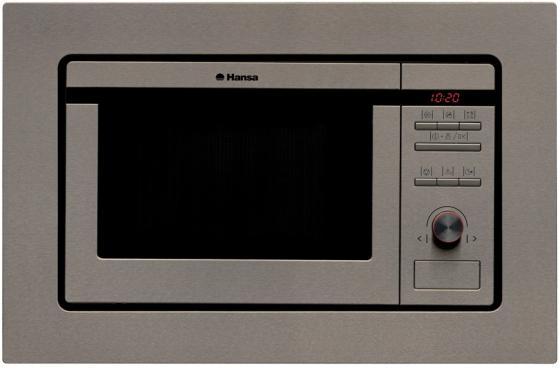 Встраиваемая микроволновая печь Hansa AMM20BEIH 800 Вт серебристый цена и фото