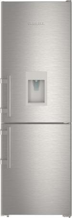 Холодильник Liebherr CNef 3535-20 001 серебристый двухкамерный холодильник liebherr cnef 3515
