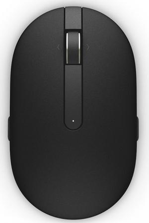 Мышь беспроводная DELL WM326 чёрный USB + радиоканал 570-AAMI мышь dell wm326 570 aami 570 aami
