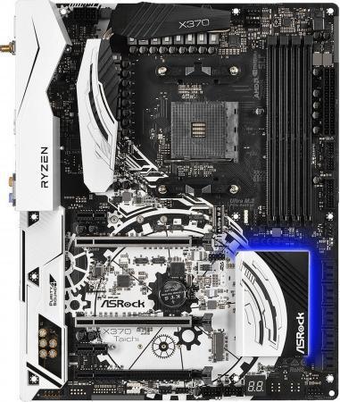 Материнская плата ASRock X370 TAICHI Socket AM4 AMD X370 4xDDR4 2xPCI-E 16x 3xPCI-E 1x 8xSATAIII ATX Retail asrock asrock fm2a68m dg3 материнская плата amd a68 socket fm2