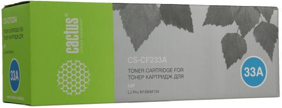 Картридж Cactus CS-CF233A для HP LJ Pro M106/M134 черный 2300стр auo m106 28ic qfn