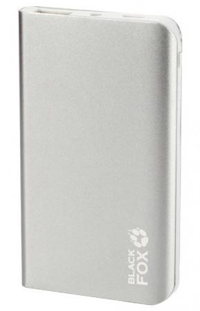 Внешний аккумулятор Power Bank 4000 мАч Black Fox BMP041S серебристый
