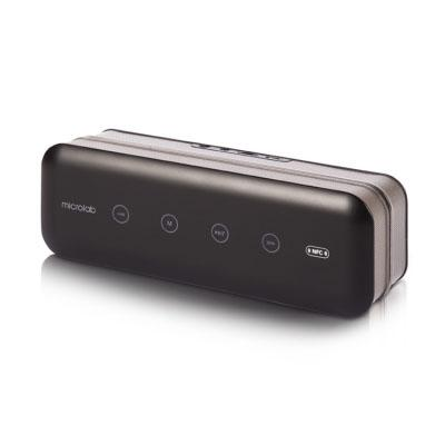 Портативная акустика Microlab MD663BT 6Вт Bluetooth черный компьютерная акустика microlab m113 black