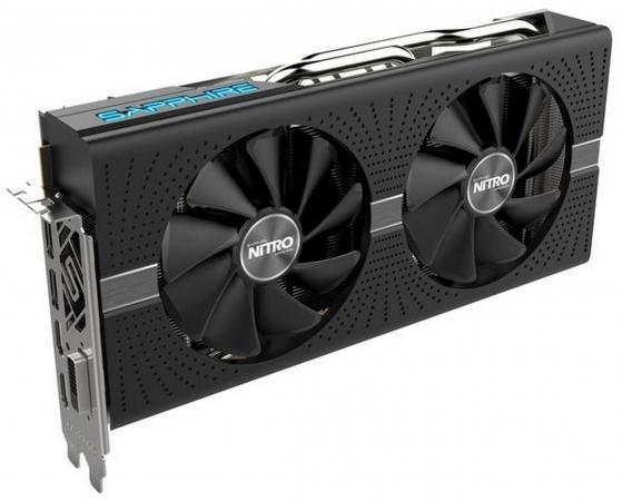 Видеокарта Sapphire Radeon RX 580 NITRO+ PCI-E 8192Mb GDDR5 256 Bit Retail 11265-01-20G все цены