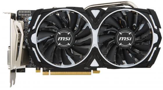 Видеокарта 4096Mb MSI RX 570 ARMOR 4G OC PCI-E 2xHDMI DVI DPx2 HDCP RX 570 ARMOR 4G OC Retail цена и фото