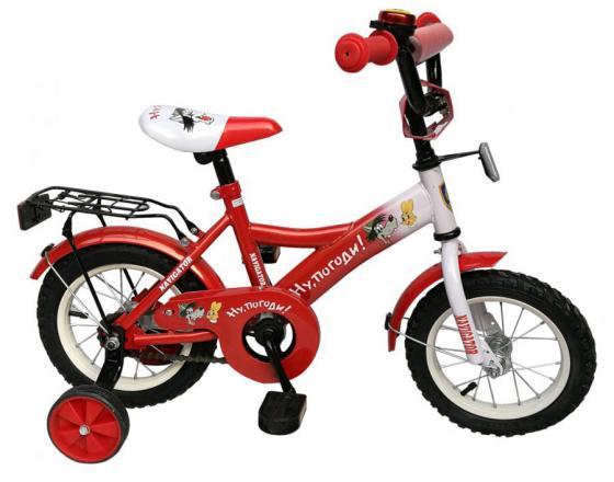 """Велосипед двухколёсный Навигатор Ну, погоди! ВН12106 12"""" черно-красный"""